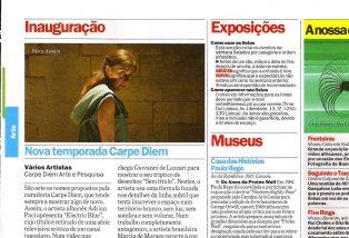 GARCIA, Elsa. Nova Temporada Carpe Diem, Revista TimeOut Lisboa