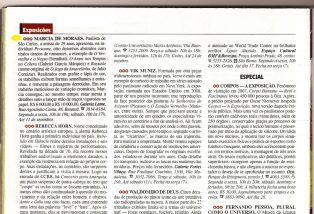 LOPES, Jonas. Marcia De Moraes, Personne, Revista Veja São Paulo