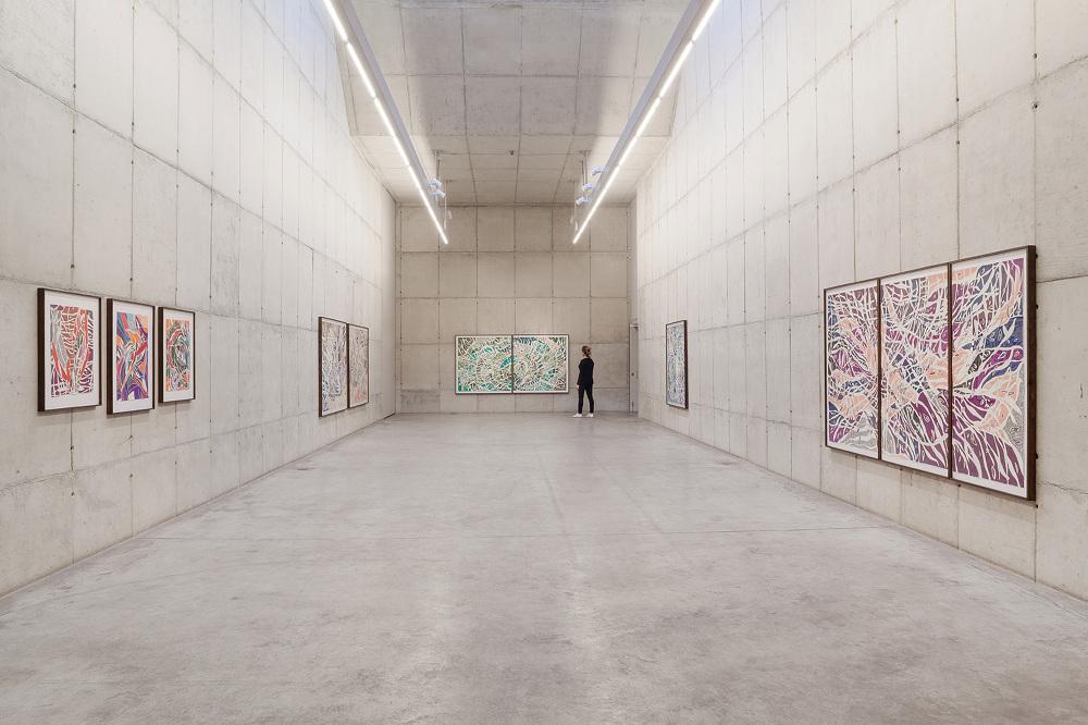 Marcia de Moraes, vista geral da exposição Atos Falhos (Exhibition view, Failed Acts), Galeria Leme, 2015, São Paulo
