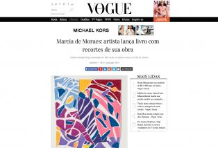 Marcia De Moraes: Artista Lança Livro Com Recortes De Sua Obra, Vogue Brasil